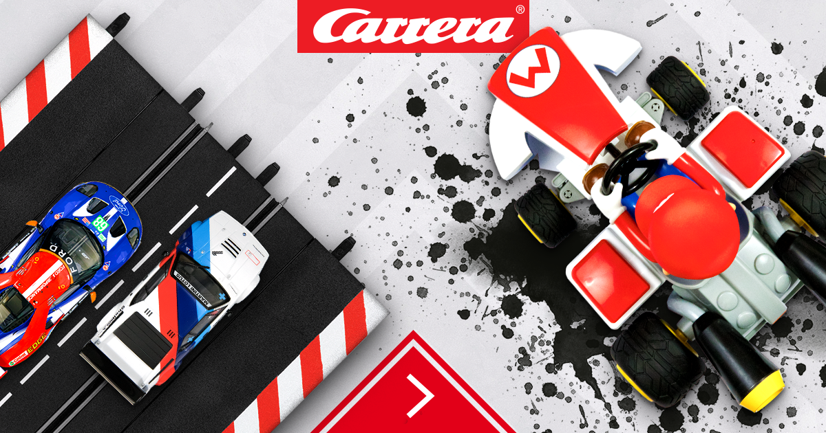 Car Racing Tracks And Remote Controlled Cars From Carrera Slotcar Rc